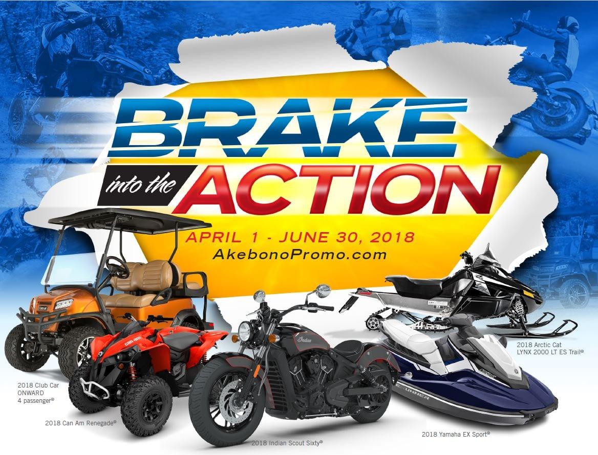 Akebono Brake into Action