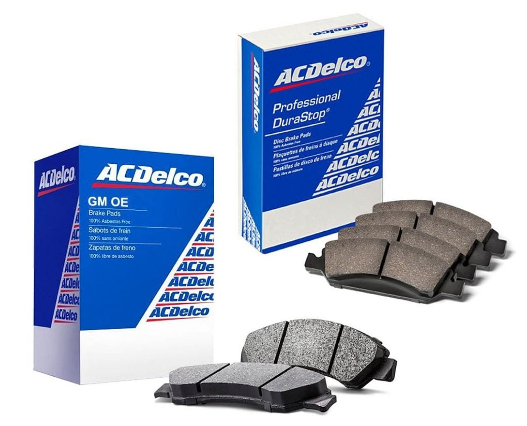 ACDelco GM OE or Professional Brake Pads